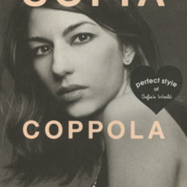 MARBLE BOOKS Love Fashionista - SOFIA COPPOLA perfect style of Sofia's World