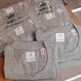 "ANATOMICA - ORIGINAL 2PACK TEE ""GREY"""