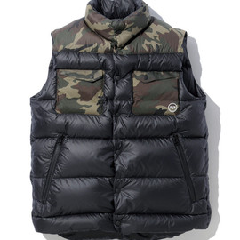 SOPHNET.  - FSF LIGHT WEIGHT DOWN VEST:¥56,700(tax.inc)
