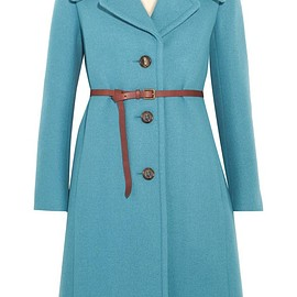 Chloé - Iconic belted wool-blend coat