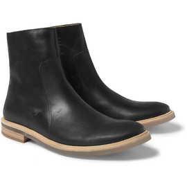 Maison Martin Margiela - Clear-Sole Leather Boots