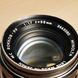 Minolta - MC ROKKOR-PF f=55mm 1:1.7