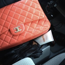 CHANEL - salmon pink.