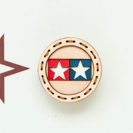 ojaga design - TAMIYA TWIN STAR LOGO BADGE