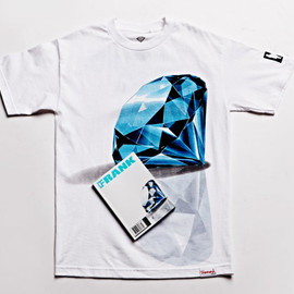 Diamond Supply Co., FRANK151 - Cover for PacSun Tee - White?