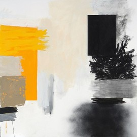 Rocio Rodriguez - Big Yellow 2012, oil on canvas