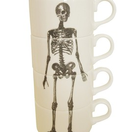 Luna & Curious x Phoebe Richardson - Skeleton Espresso Cup Set