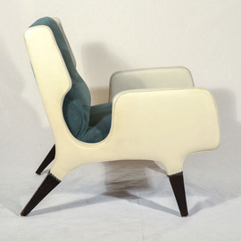 "Cassina - Pair of Gio Ponti Armchairs ""866"""