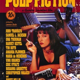 Quentin Tarantino - PULP FICTION:REGULAR ORIGINAL POSTER