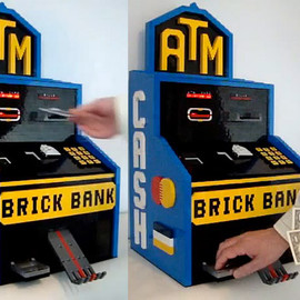 Lego - NXT ATM Machine with Change Maker
