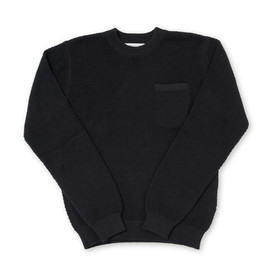 Patrik Ervell - Pocket Sweater Black Pima