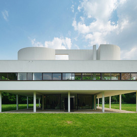 Rooftop at Villa Savoye, Poissy