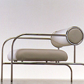 Shiro Kuramata 倉俣史朗, Cappellini - Sofa with arm, 1982