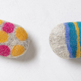 Felted Soap Bar - _