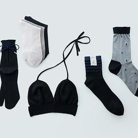 babaco - bra & socks  black