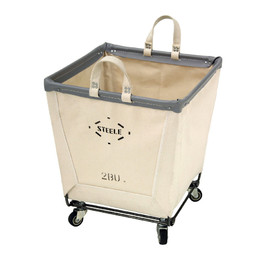 Steele Canvas Basket - #185CST 2BU / SQAURE CASTER