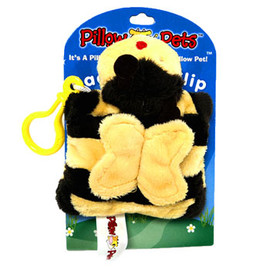 Pillow Pets - Back Pack Clip BUMBLEBEE