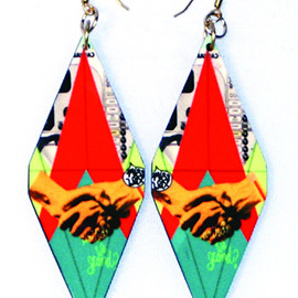 Miss Wax - De-United Earrings