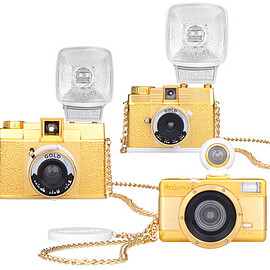 Lomography - Diana F+, Diana Mini and Fisheye Gold Edition Cameras