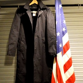 US Navy - Black All Weather Coat/Dead Stock