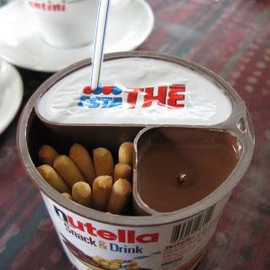 Nutella - Nutella Snack and drink