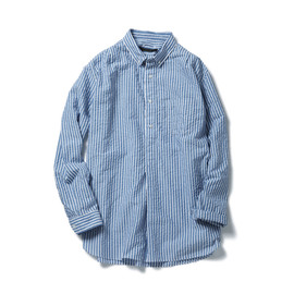 SOPHNET. - REGULAR COLLAR LONG SHIRT (PULL OVER)