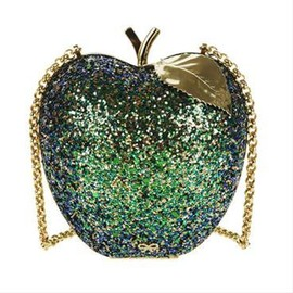 ANYA HINDMARCH - Fruit Clutch Apple - Green