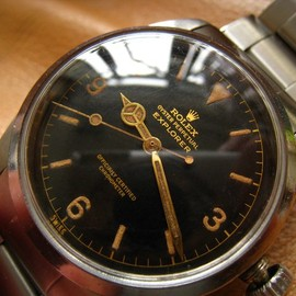 Rolex 6610 Original Gilt dial explorer