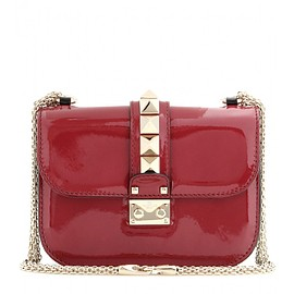 VALENTINO - Pre-Fall 2015 Lock Small patent leather shoulder bag