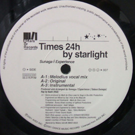 SUNAGA T EXPERIENCE - TIME 24TH BY STARLIGHT / AFTERS OR