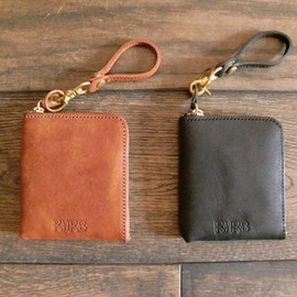 "RHRB - PUEBLO Leather Wallet / ""BLACK"""