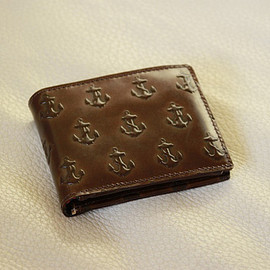 Jack Spade - EMBOSSED ANCHOR INTERNATIONAL WALLET