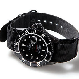 Blacked-Out Rolex - Submarine