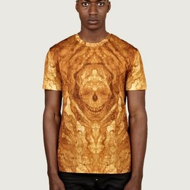 Alexander McQueen - All Over Print Skull T-Shirt