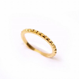 Lilou - MINI STUDS RING gold