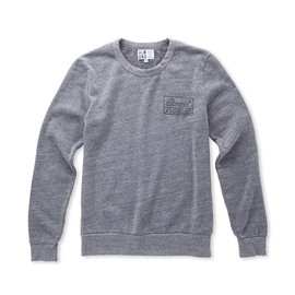 Almond Surfboards - 36th Street Pullover // Heather Grey