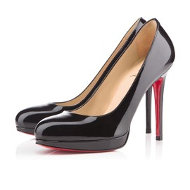 Christian Louboutin - Simple Pump patent black 120mm
