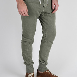 Acne - John Sweatpants in Washed Green