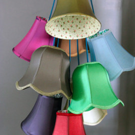 Rockett St George - Traditional Lampshade Cluster Light