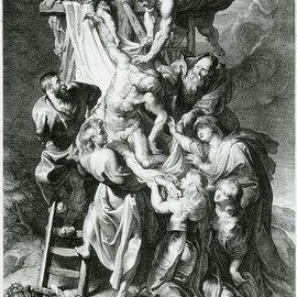 Lucas Vorsterman after Peter Paul Rubens - Descent from the Cross