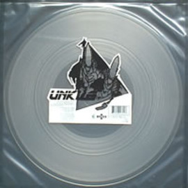 "UNKLE - Berry Meditation 12"" clear vinyl"