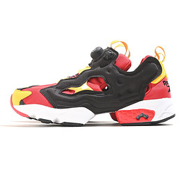 Reebok Classic - Insta Pump Fury OG Shoes-Scarlet×Black×T.Yellow