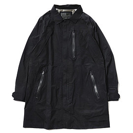 White Mountaineering - BLK GORE-TEX® Paclite® 50d Nylon Taffeta Coat