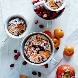 anthropologie - Allspice Persimmon & Cranberry Clafoutis