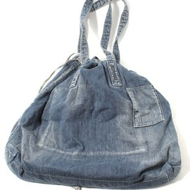 Porter Classic - HOBO denim bag/L