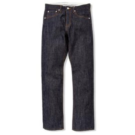 UNIVERSAL PRODUCTS - NEVER RIGID DENIM 5 POCKET PANTS (NON WASH)[INDIGO]