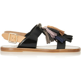 ISABEL MARANT - Étoile Clay tasseled leather sandals