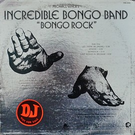 Incredible Bongo Band - Bongo Rock US Original Promo