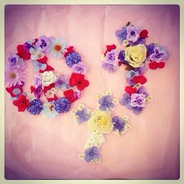 Roretta's Room - chaton♡Flower Wall Deco