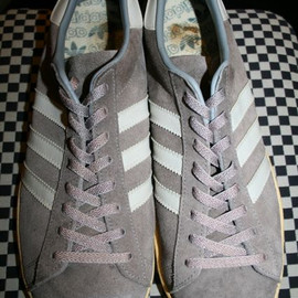 adidas - campus made in france : Gray Suede